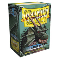 Dragon Shield Green - Box 100