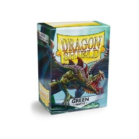 Dragon Shield - Box 100 - Green MATTE