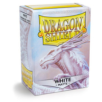 Dragon Shield - Box 100 - White MATTE