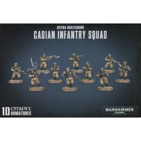 Astra Militarum Cadian Shock Troops (Infantry Squad)