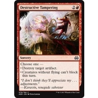 Destructive Tampering FOIL