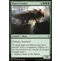 Plated Crusher