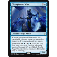 Champion of Wits FOIL