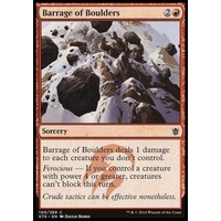 Barrage of Boulders FOIL