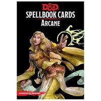 D&D Spellbook Cards Arcane Deck (253 Cards) Revised 2017 Edition