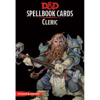D&D Spellbook Cards Cleric Deck (149 Cards) Revised 2017 Edition