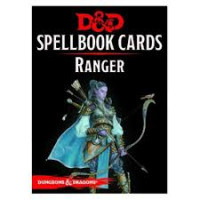 D&D Spellbook Cards Ranger Deck (46 Cards) Revised 2017 Edition