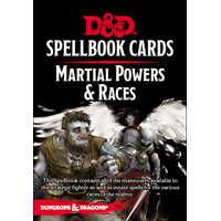 D&D Spellbook Cards Martial Deck (61 Cards) Revised 2017 Edition