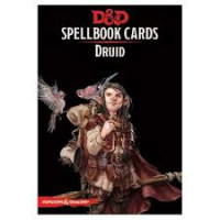 D&D Spellbook Cards Druid Deck (131 Cards) Revised 2017 Edition