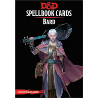 D&D Spellbook Cards Bard Deck (110 Cards) Revised 2017 Edition
