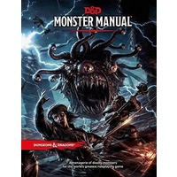 D&D Dungeons and Dragons Monster Manual  5th Edition