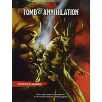 D&D Dungeons and Dragons Tomb of Annihilation