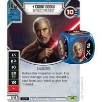 Count Dooku: Devious Strategist - Awakenings (w/ Die #09)