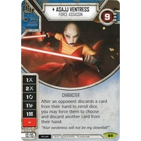 Asajj Ventress: Force Assassin - Spirit of Rebellion (w/ Die #09)
