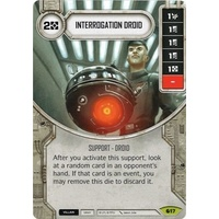 Interrogation Droid - Spirit of Rebellion (w/ Die #17)