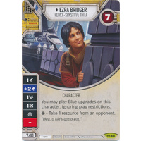 Ezra Bridger - Force-sensitive Thief - Empire at War (w/ Die #38) Rare