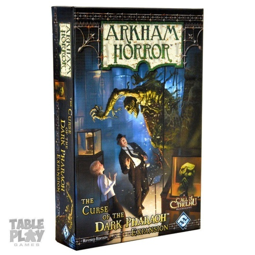 Arkham Horror The Curse of the Dark Pharaoh Expansion