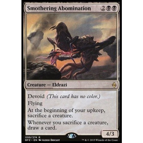 Smothering Abomination FOIL