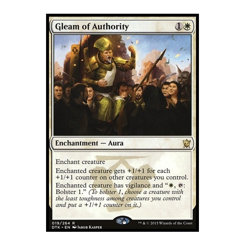 Gleam of Authority FOIL
