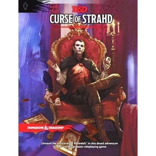 D&D Dungeons and Dragons Curse of Strahd