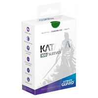 Ultimate Guard - Katana 100 Sleeves - Green