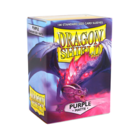 Dragon Shield - Box 100 - Purple Matte