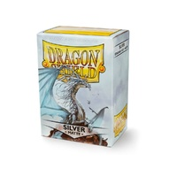 Dragon Shield - Box 100 - Silver Matte