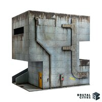 Brutal Cities MDF Terrain: The Institute