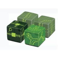 Railroad Ink Challenge Dice Expansion Eldritch Pack