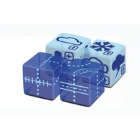 Railroad Ink Challenge Dice Expansion Sky Pack