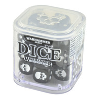 Warhammer 40000: 12mm Dice Set Grey