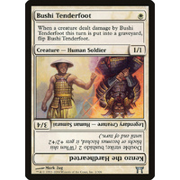 Bushi Tenderfoot - CHK