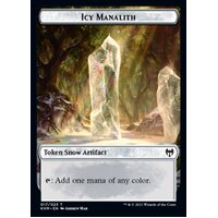 3 x Icy Manalith Token - KHM