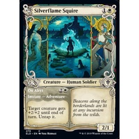 Silverflame Squire // On Alert (Showcase) FOIL - ELD