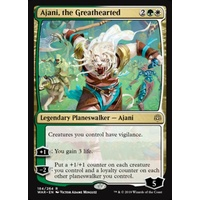 Ajani, the Greathearted FOIL - WAR
