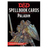 D&D Spellbook Cards Paladin Deck (69 Cards) Revised 2017 Edition