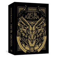D&D Dungeons and Dragons Art & Arcana Special Edition