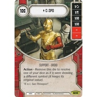 C-3PO - Spirit of Rebellion (w/ Die #30)