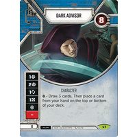 Dark Advisor - Legacies (w/ Die #1) Rare