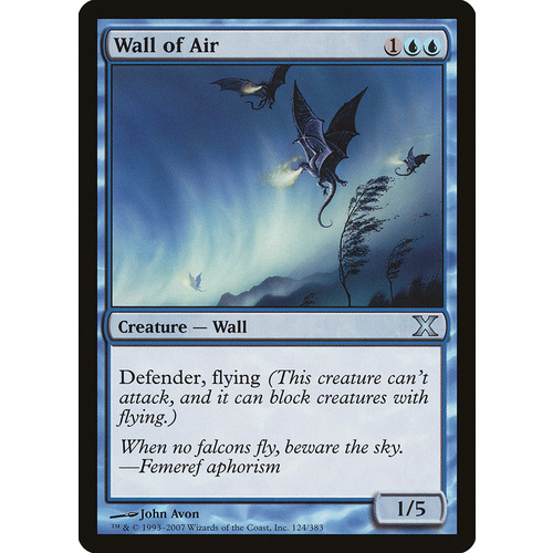 Wall of Air FOIL - 10E