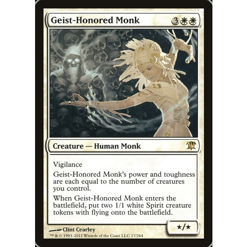 Geist-Honored Monk FOIL - ISD
