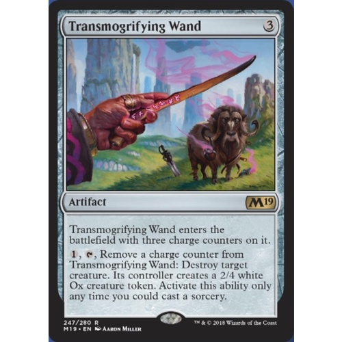 Transmogrifying Wand FOIL - M19