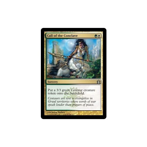 Call of the Conclave FOIL - RTR